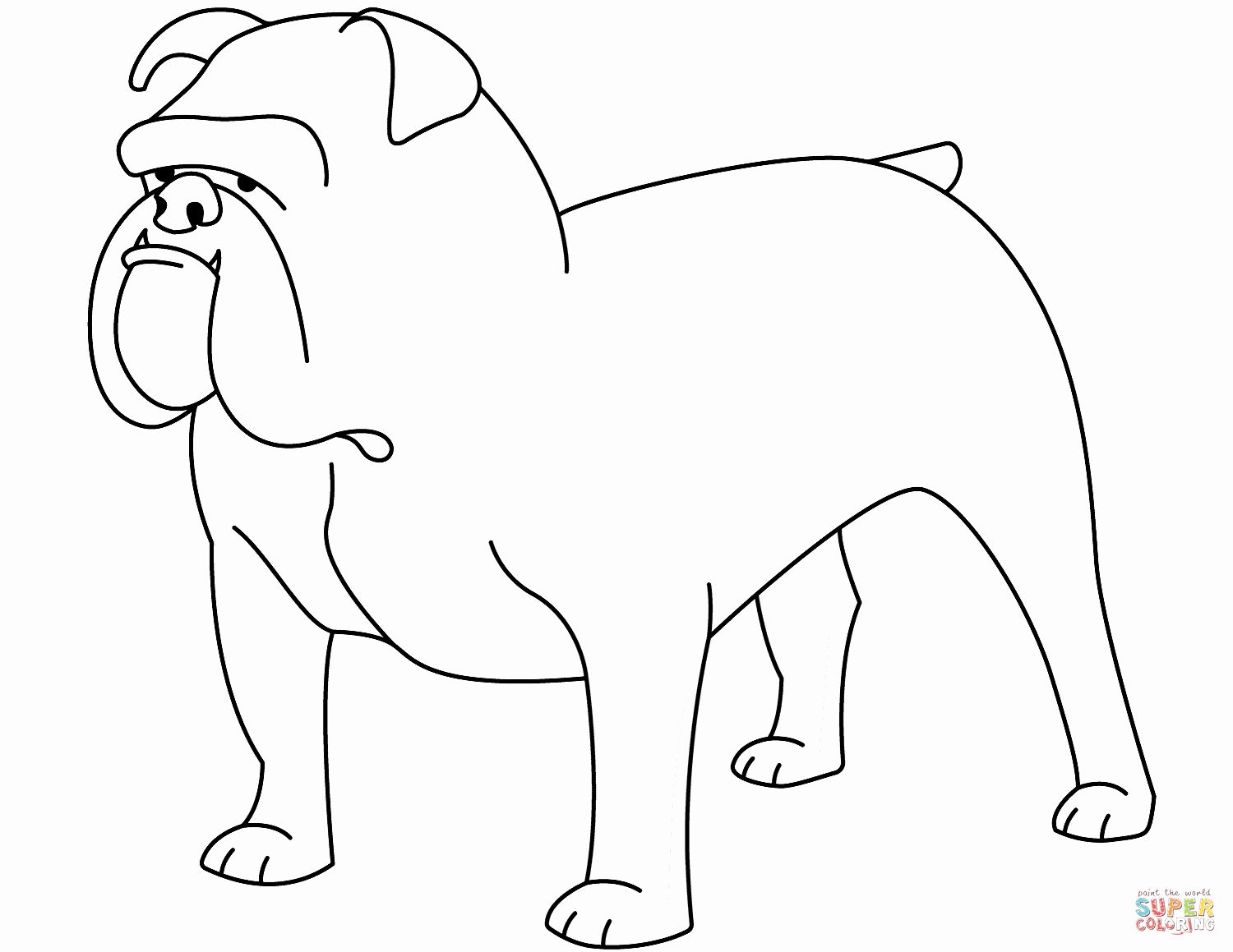 Bull Dog Coloring Page Best Of Funny Bulldog Coloring Page Dog Coloring Page Bulldog Funny Coloring Pages [ 1159 x 1500 Pixel ]
