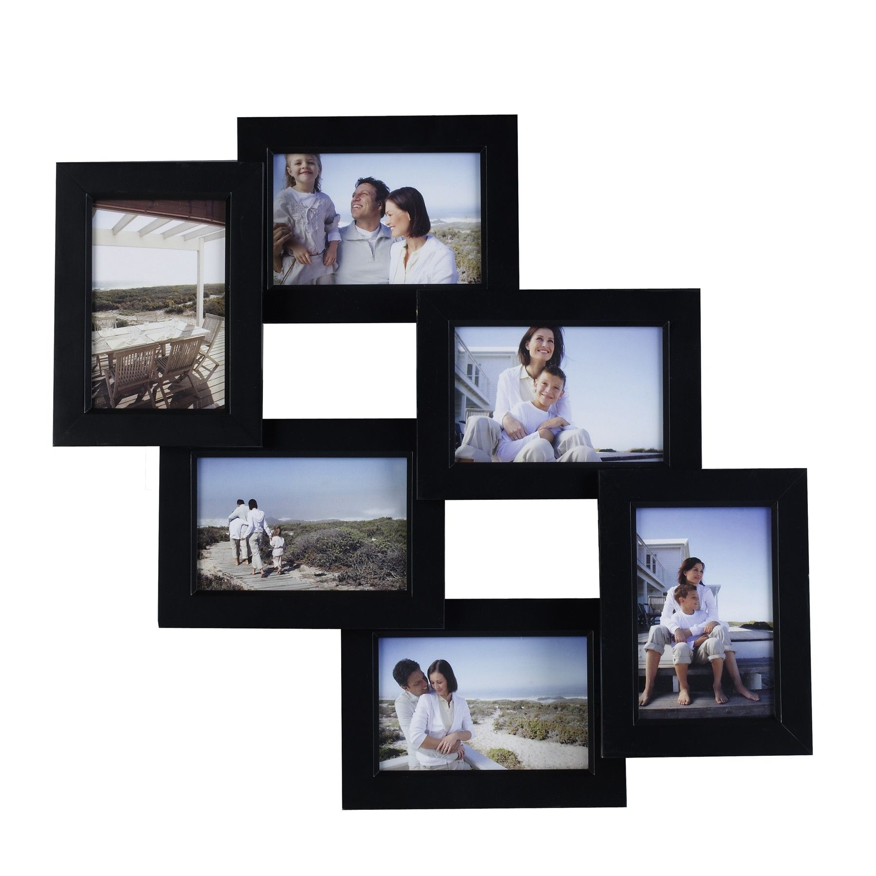 Mellanco-6-Photo-Black-Collage-Frame-L13996002.jpg (1800×1800 ...
