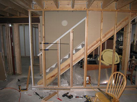 Cheap basement remodel on pinterest - How to build a garage cheaply steps ...