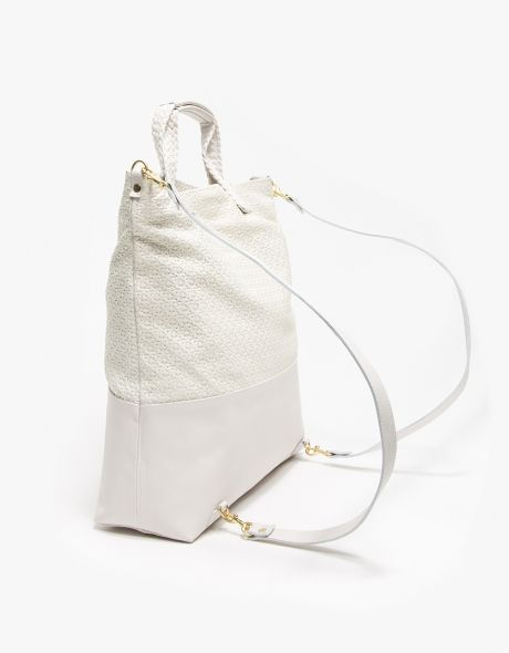 Clare V.   Mathilde Backpack in Cream  83883f90b87f8