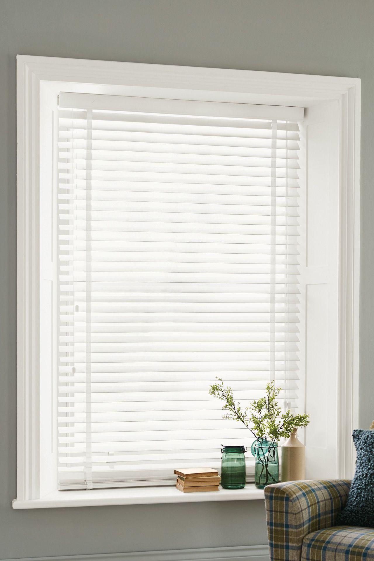 White Venetian Blinds White Wooden Blinds Living Room Blinds Wooden Blinds