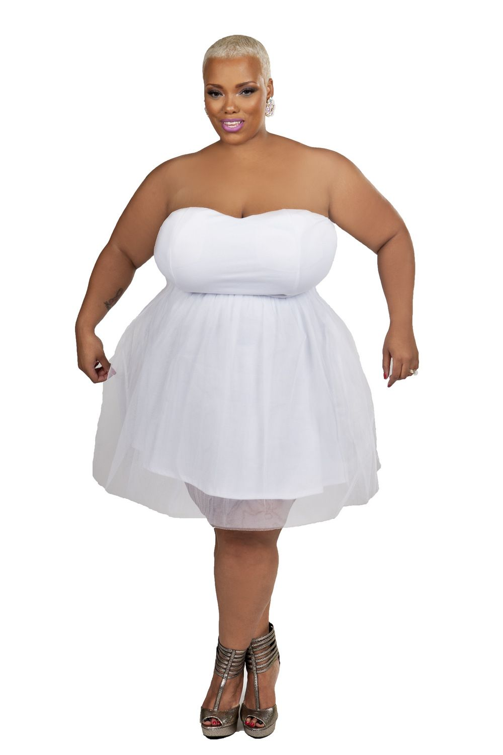 13 Plus Size Little White Dresses for Summer | Curvy, Summer and ...