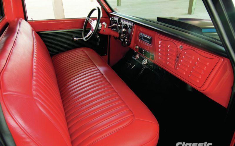 1967 Chevrolet C10 Interior Photo 5 Classic Trucks Classic Trucks Magazine Chevrolet