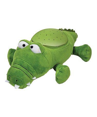 Green Twilight Buddies™ Alligator Constellation Night-Light #zulily #zulilyfinds