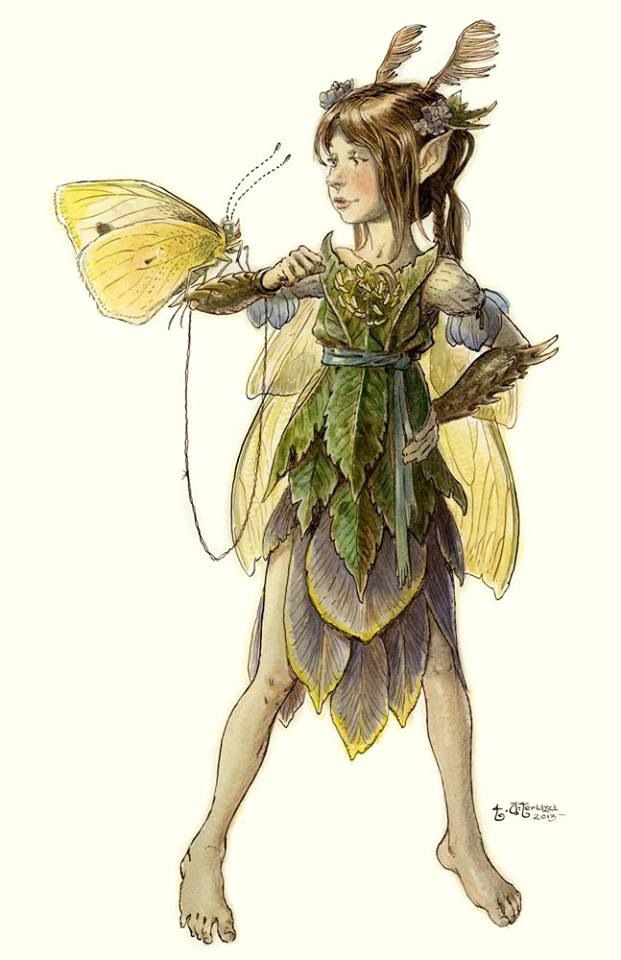 Power and strength with kindness and gentleness mixed in ..  tony diterlizzi artwork - Yahoo Image Search results