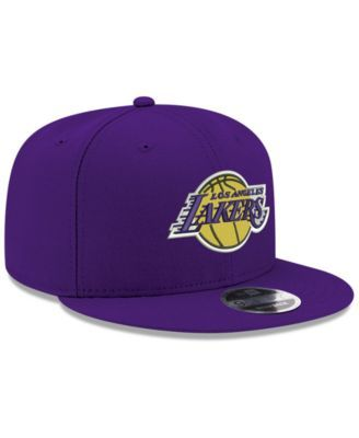 New Era Boys Los Angeles Lakers Basic Link 9fifty Snapback Cap Reviews Sports Fan Shop By Lids Men Macy S Snapback Fitted Hats Cap