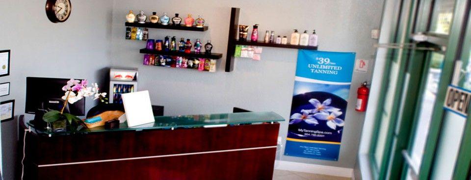 Tanning Spa Front Desk