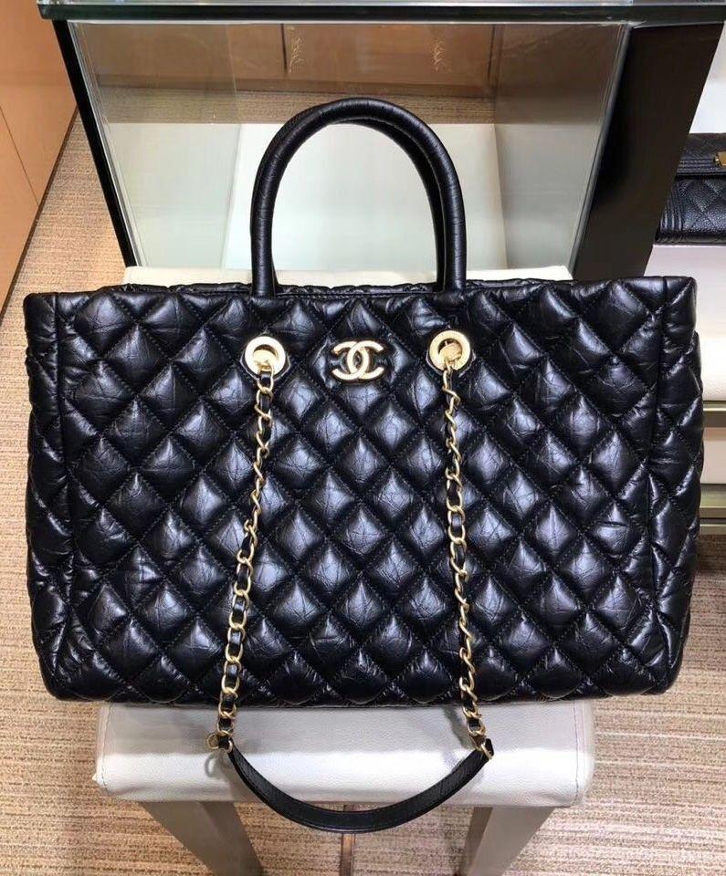 202befd313c151 Chanel Large Shopping Bag Lambskin | Julia bags | Bags, Shopping bag ...
