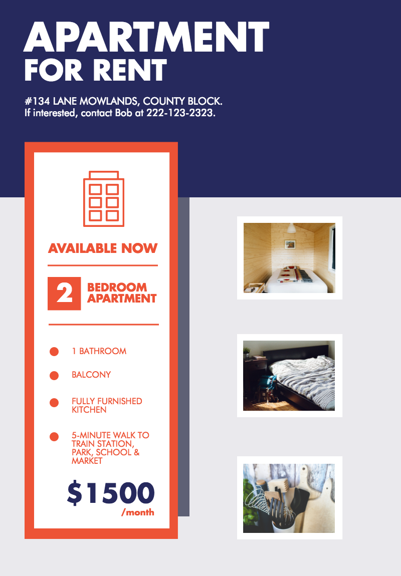 Attractive If Youu0027re Looking To Rent Your Apartment, You Should Use This Poster  Template