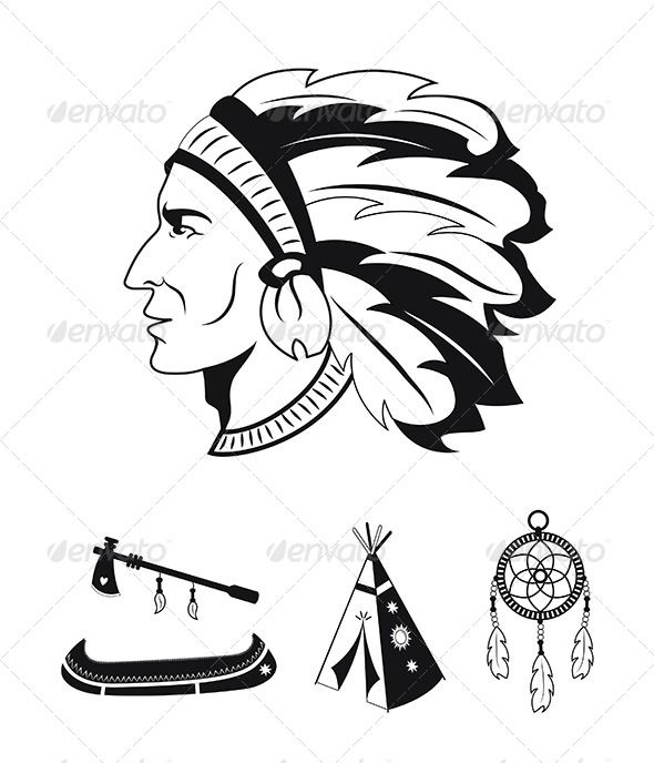 Native American Icons American Icons Native American Artwork Native American
