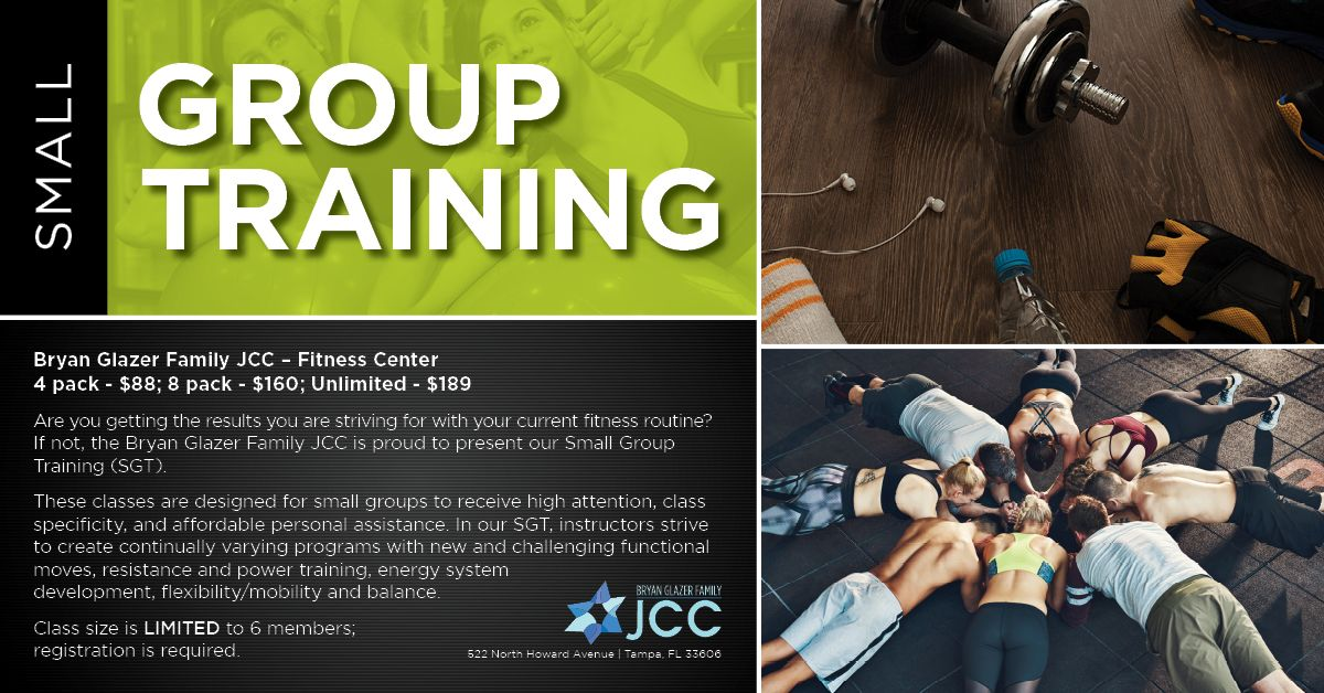 Small Group Training We Are Proud To Present Our Small Group Training Sgt These Classes Are Designed For Small Group Training Group Training Power Training