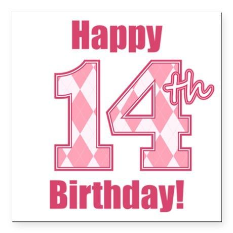 Happy 14th Birthday Birthday Wishes Images Sayings
