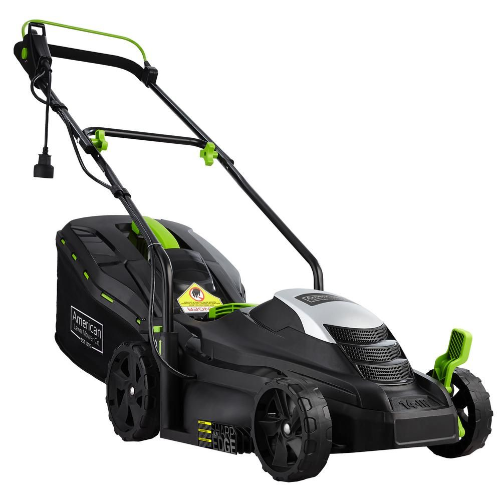 American Lawn Mower Company 14 In 11 Amp Corded Electric Walk