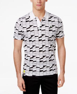 528051fd10ea4 LACOSTE Lacoste Men S Geometric Print Polo.  lacoste  cloth   polos ...