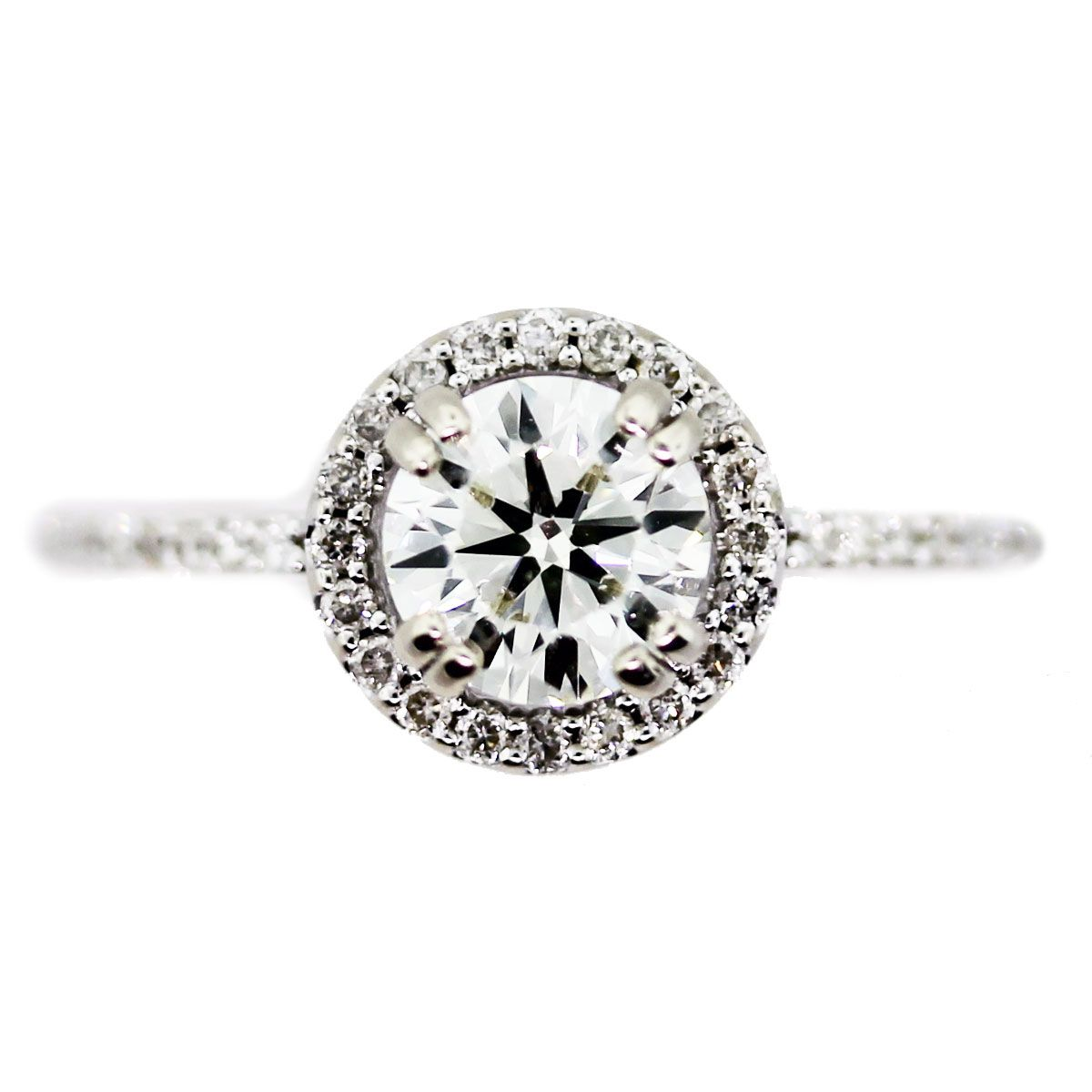 Engagement Rings Under 3000 Halo setting White gold and Engagement