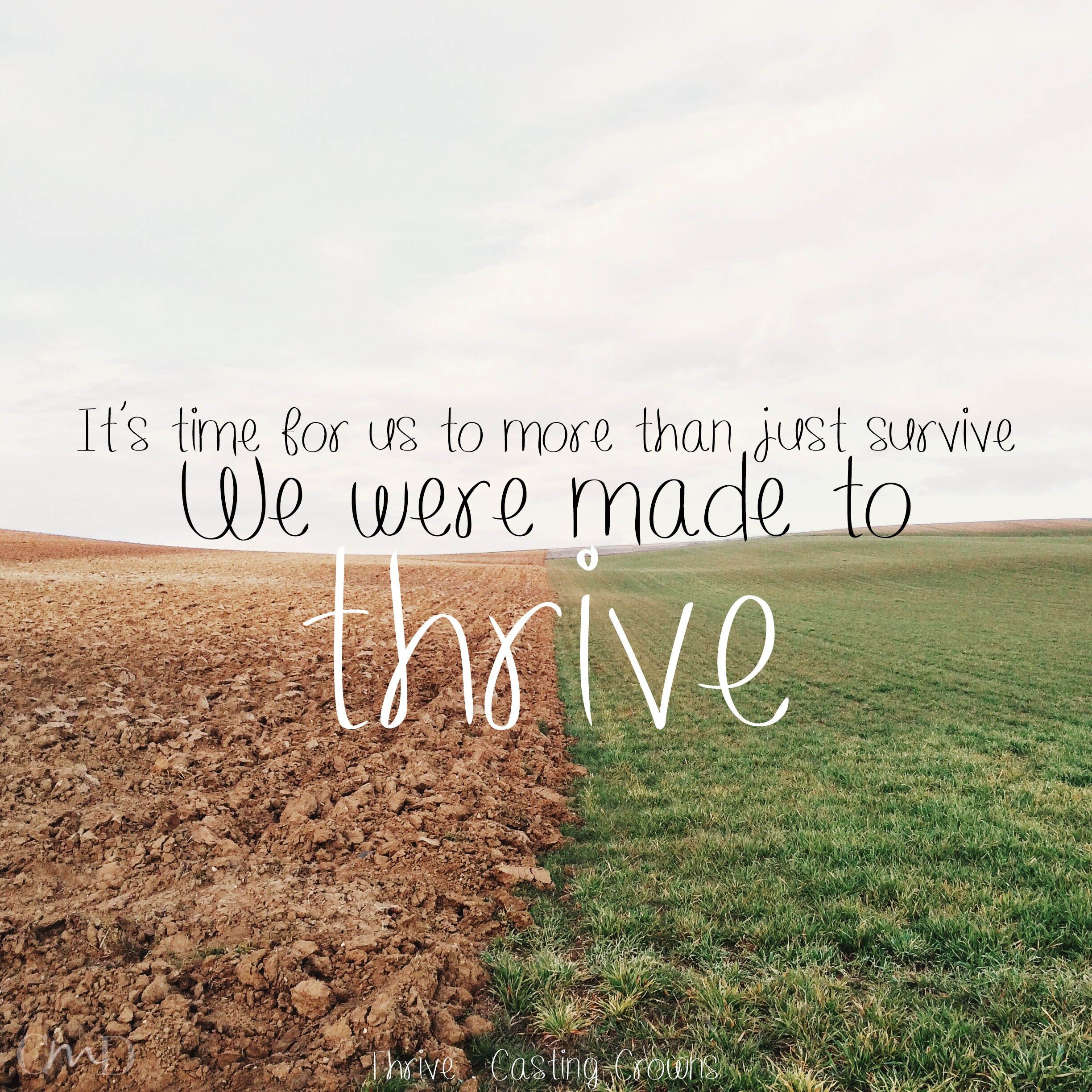 Lyrics: Thrive By Casting Crowns Lyrics, Christian Music Lyrics And IPhone Background At