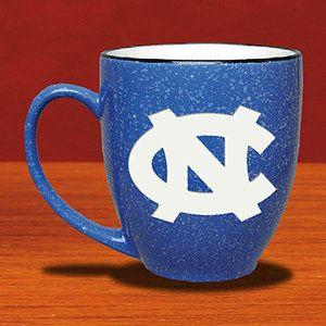 NCAA - North Carolina Tar Heels 15 oz Deep Etched Light Blue Coffee Mug