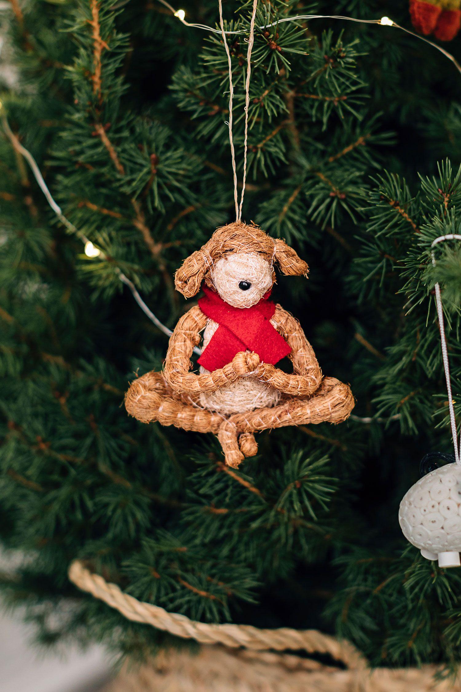 Yoga Dog Ornament Dog Ornaments Ornaments Dog Yoga