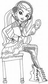 ever after high legacy day coloring page - Ever After Coloring Pages