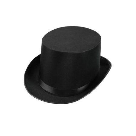 33e2f81cbe178 Masquerade Top Hat - Black for Batman Penguin Halloween Costume -  Walmart.com