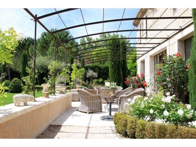 Nos r alisations d 39 am nagement paysager pr s de maussane les muret bordure terrasse - Bassin balcon terrasse le mans ...
