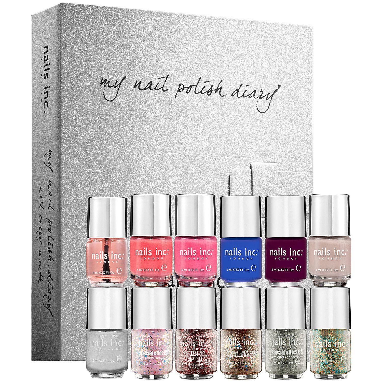Sephora: nails inc. : My Nail Polish Diary : nail-polish-sets-kits ...
