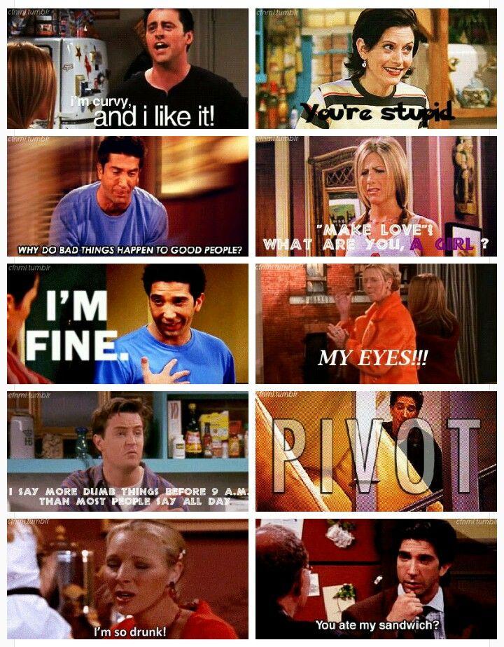 F R I E N D S Quotes Friend Memes Friends Funny Funny Memes