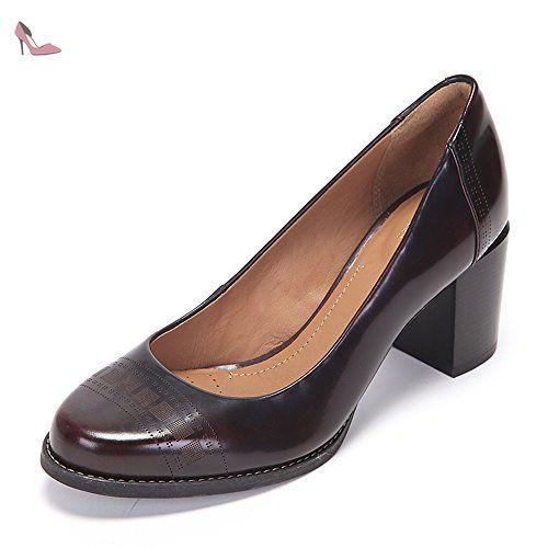 Clarks Tarah Sofia, Chaussures de Ville Femme - Noir (Black), 37.5 EU (4.5 UK)