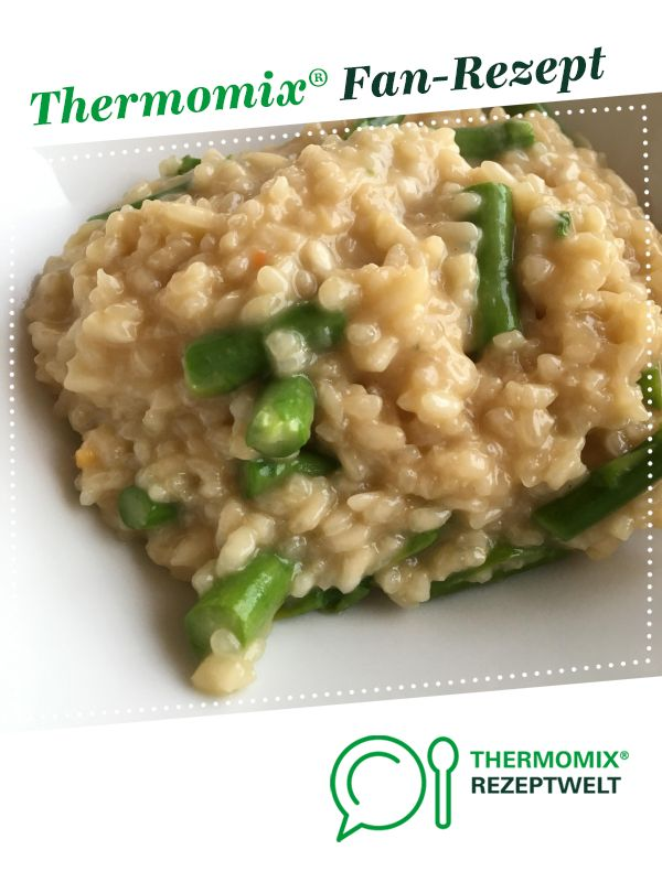Photo of Risotto with green asparagus