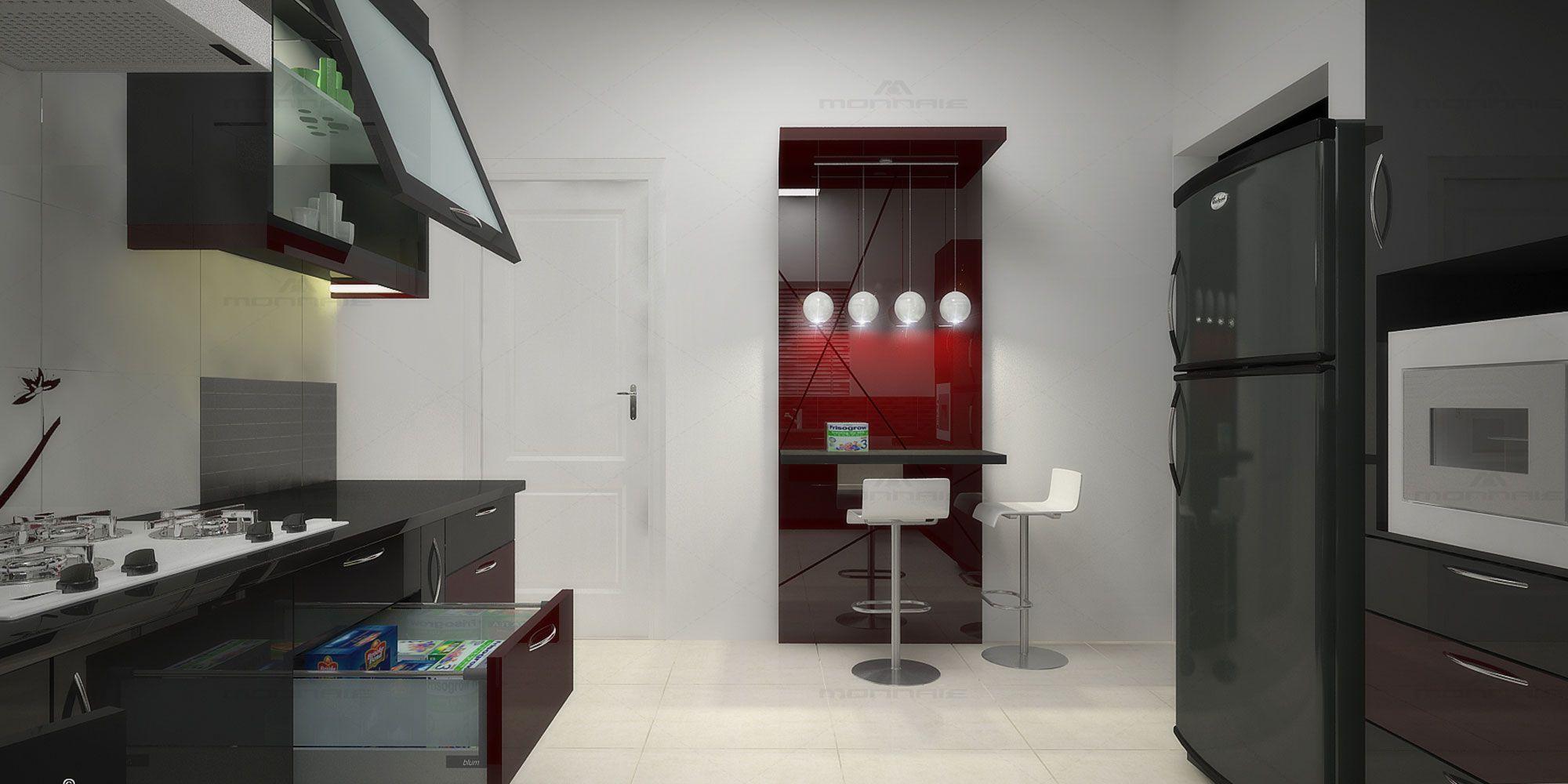Modern Kitchen Interior Designers in Coimbatore | Interior ...