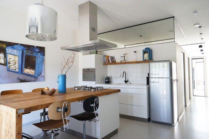 Kookeiland Uitschuifbare Tafel : Tafel aan keukeneiland vast keuken ikea bar