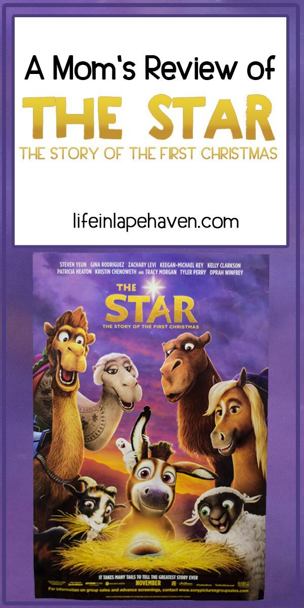 a moms review of the star the story of the first christmas life in lape haven this weekend my family saw the new christmas movie the star