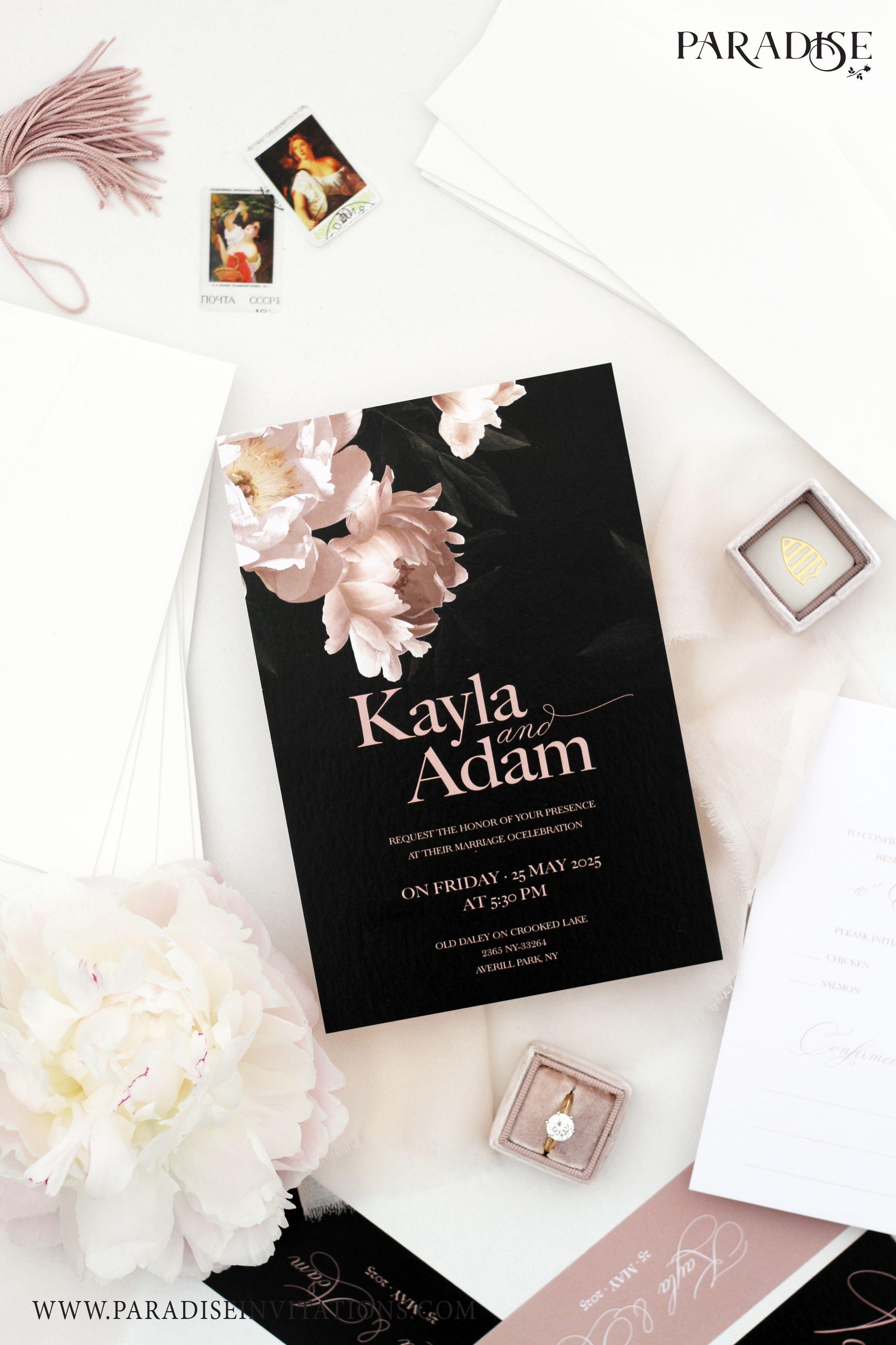 Elegant Wedding Invitation Card Design Ideas Archives Addicfashion