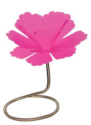 Paloma Plastic Table Lamp Fuchsia, 0000005243648