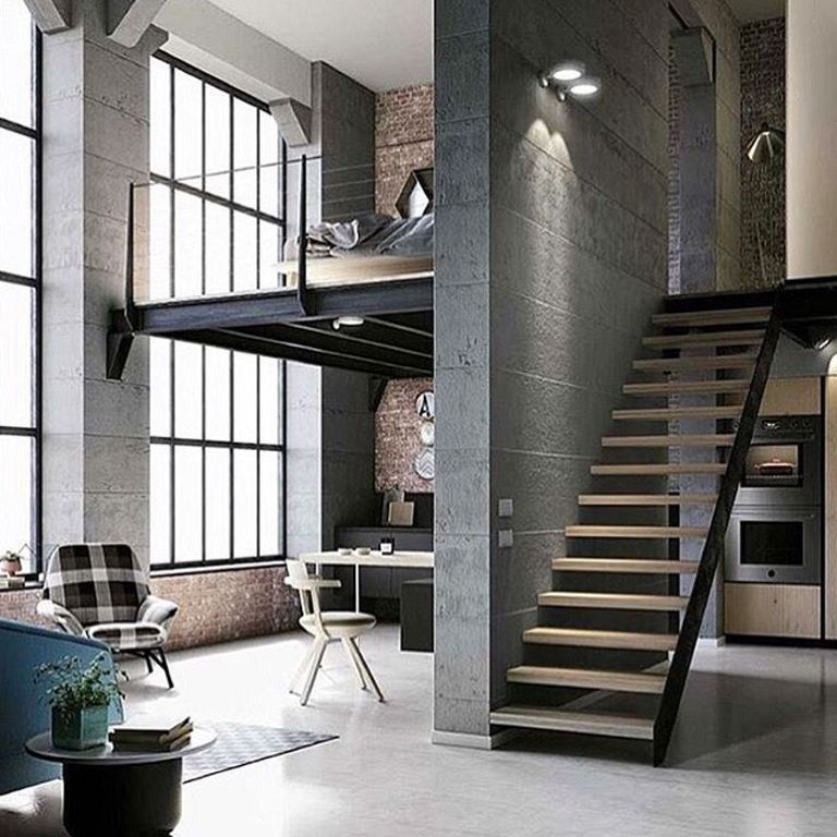 23 Top Interior And Loft Design Ideas In Industrial Style