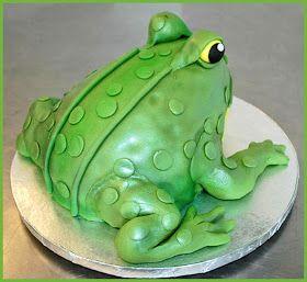 Frog Hopper Glen Eighteen Shaped Cakes Leaping Loads Of Fun