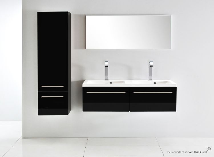 45++ Meuble salle de bain noir laque inspirations