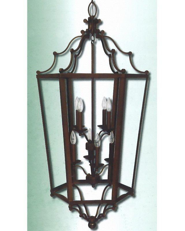 epiphany lighting 102273 orb eight light pendant chandelier in oil