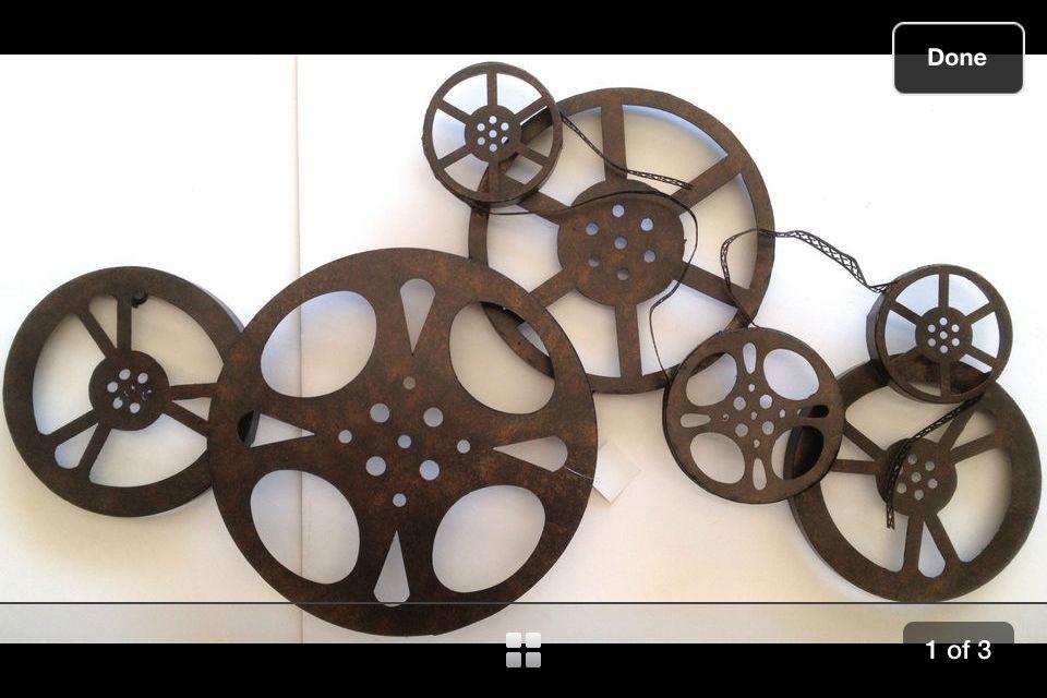 Movie Film Reel Wall Art Idea From Hobby Lobby Mine Will Be Bigger