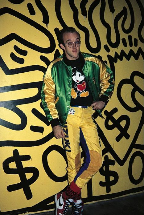 5695ce5655e Keith Haring Just Eighties Fashion