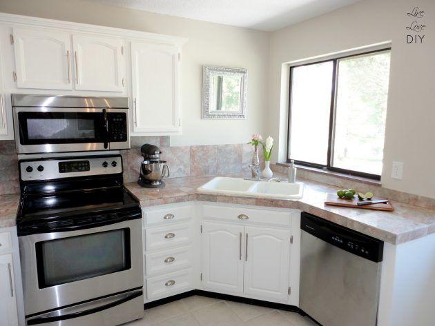 Https Www I Sabuy Com สร างอ างล างจากตามม มของเค าท เตอร คร ว ท ไม ค อยได พบเห นได ตามบ าน Kitchen Sink Design Small Kitchen Layouts Kitchen Remodel Small