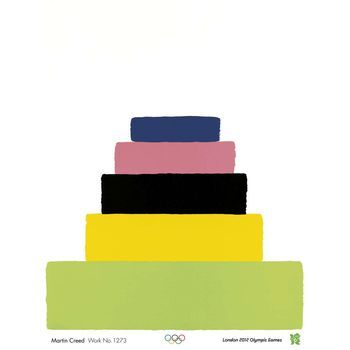 London 2012 official poster: Martin Creed - Work No. 1273  £7.00