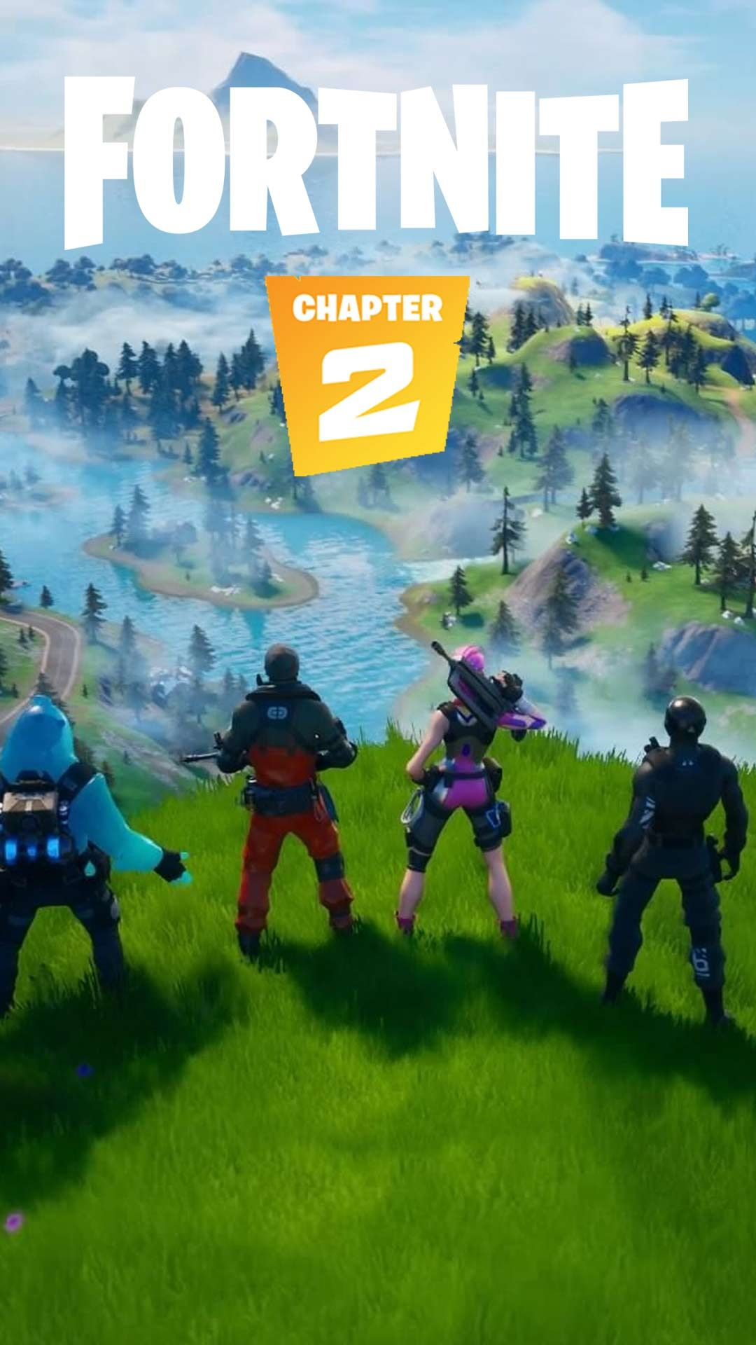 Fortnite Chapter 2 Season 2 Wallpaper Hd Phone Backgrounds For Iphone Android Lock Screen Art In 2020 Phone Wallpaper Hd Phone Backgrounds Iphone Background