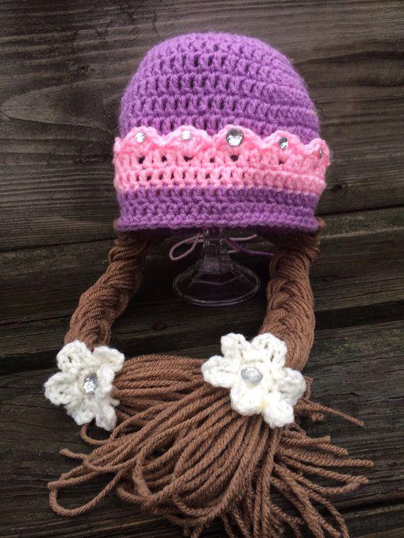 Princesa Sofia princesa inspirado sombrero por EllieMaesCrochets ...