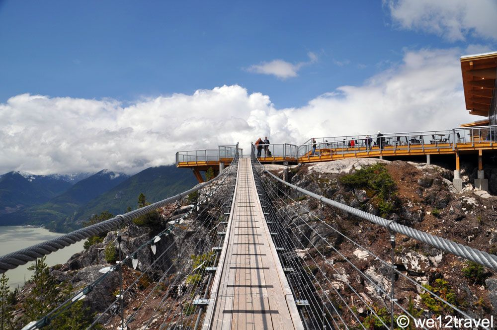 Skea  to Sky Gondola Suspension Bridge