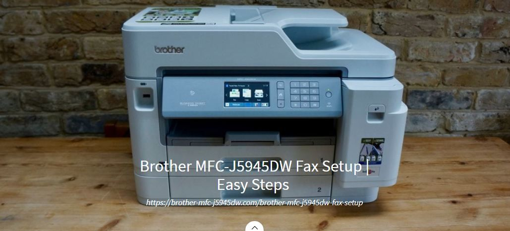 Brother MFCJ5945DW is an AllinOne Inkjet printer that
