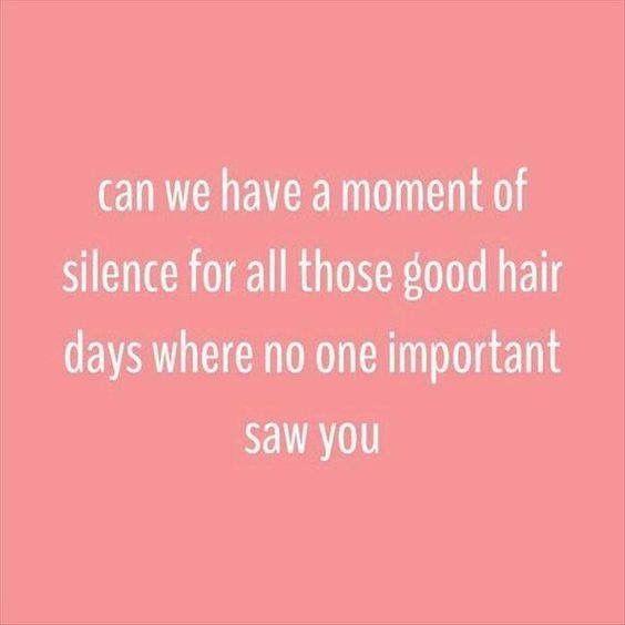 #goodhairdays