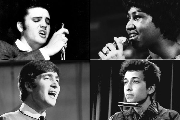 100 Greatest Singers of All Time: Aretha, Elvis, Lennon, Dylan - Rolling Stone