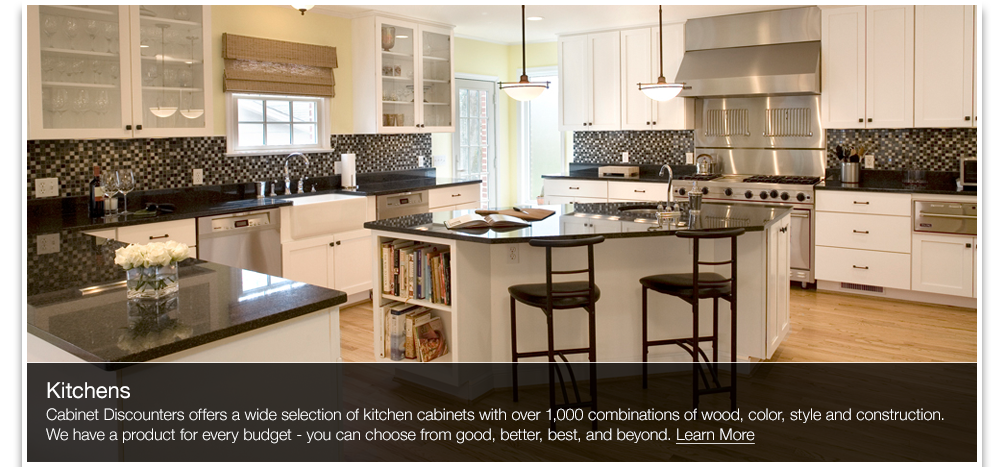 Need Quality Cabinets At A Great Price Head To Cabinet Discounters Magnificent Kitchen Remodeling In Maryland Set