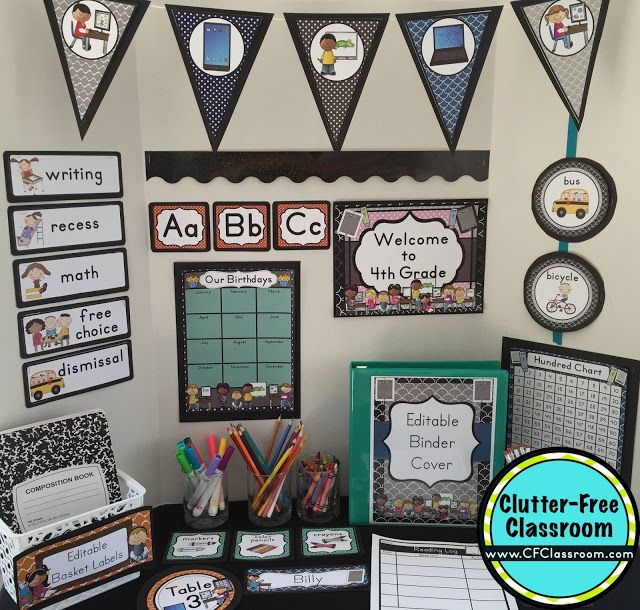 Technology Themed Classroom Ideas Printable Classroom